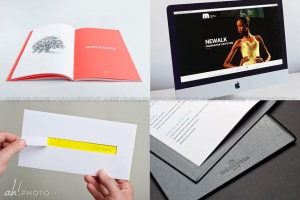 Fotos de portfolio para empresa de design
